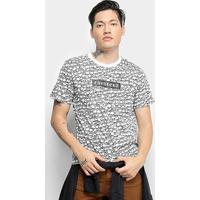 Camiseta T-Shirt Cavalera Full Skull Masculina - Masculino-Preto