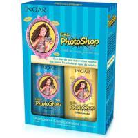 Kit Inoar Efeito Photoshop Shampoo + Condicionador 250 Ml - Unissex-Incolor