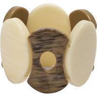 Bracelete Resina Oval Shapes