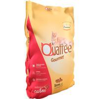 Ração Para Gatos Adultos Quatree Gourmet Sabor Carne 1Kg