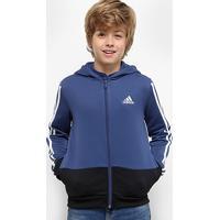 Jaqueta Infantil Adidas Yb Gu Fz Hoodie Masculina - Masculino