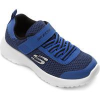 60ed92265b5 ... Tênis Infantil Skechers Dynamight Masculino - Masculino-Azul Royal
