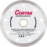 Disco Corte Piso Diamantado Cortag, 110 Mm