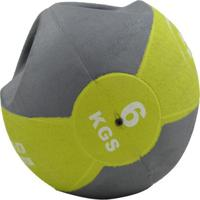Medicine Ball Com Manopla Ahead Sports 6Kg - Unissex