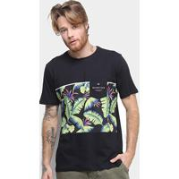 Camiseta Quiksilver Everyday Glitch Masculina - Masculino
