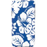 Palm Angels Floral-Print Iphone X Case - Azul