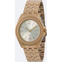 Kit Relógio Feminino Lince Lrg4556L Kv05C2Kx Analógico 5Atm + Conjunto Semijóia