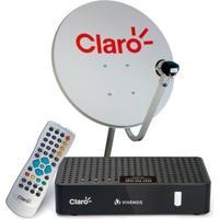 Antena E Receptor Claro Tv Digital Pré Pago