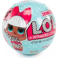 Mini Boneca Surpresa - Lol - Lil Outrageous Littles - Serie 1 - 7 Surpresas - Candide