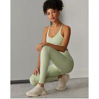 Amaro Feminino Legging Essential Biodegradável Básica, Verde Claro