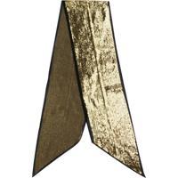 Saint Laurent Echarpe Com Paetês - Dourado
