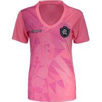 Camisa Topper Remo 2018 Outubro Rosa Feminina - Feminino