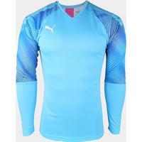 Camisa Manga Longa Goleiro Puma Cup Masculina - Masculino