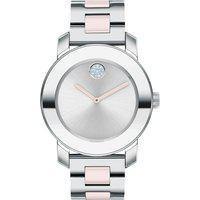 Relógio Movado Feminino Aço Prateado E Blush - 3600702