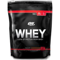 On Whey 100% 1,82 Lbs - Optimum Nutrition - Unissex-Chocolate