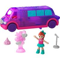 Micro Polly Pocket Pollyville Party Limousine - Mattel - Kanui