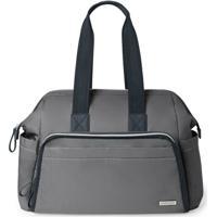 Bolsa Maternidade Skip Hop (Diaper Bag) Mainframe Satchel - Unissex-Grafite