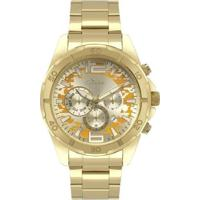 Relógio Condor 4D Masculino - Masculino-Dourado