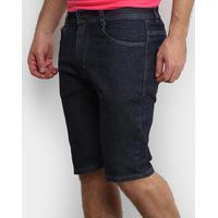 Bermuda Jeans Nicoboco Juliana Masculina - Masculino-Marinho