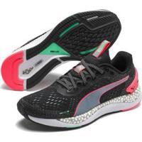 Tênis Puma Speed 2 Feminino - Feminino-Preto+Rosa