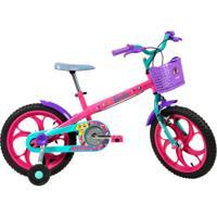 Bicicleta Caloi Barbie - Aro 16 - Freios Cantilever - Feminina - Infantil - Rosa
