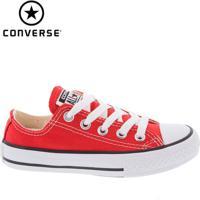 Tênis Converse All Star Infantil Vermelho