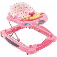 Andador Burigotto Baby Coupe Rosa