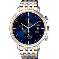 Relógio Citizen - Tz20751A Masculino - Masculino-Prata+Dourado