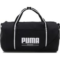 Bolsa Puma Wmn Core Base Barrel Bag Preta