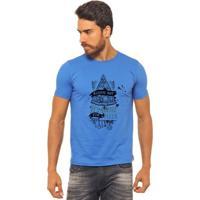Camiseta Joss Estampada - Always Hot - Masculina - Masculino-Azul