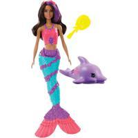 Boneca Barbie - Explorar E Descobrir - Sereia Teresa - Muda De Cor - Mattel