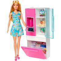 Boneca Barbie Geladeira Da Barbie - Mattel - Kanui