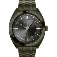 Relógio Hugo Boss Masculino Aço Verde - 1530094