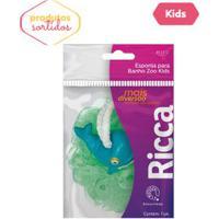 Esponja Infantil P/ Banho Zoo Kids - Ricca - Un