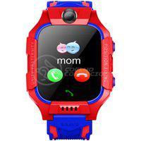Smartwatch Relógio Inteligente Infantil Criança Q12 Localização Chamadas Sos Android Ios - Vermelho