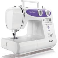 Máquina De Costura Jx6000 Confiance 127V-Elgin - Branco