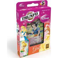 Super Trunfo Girls Disney - Jogo De Cartas - Grow - Tricae