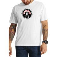 Camiseta Cheiro De Gasolina Tampa De Combustível Ss Branca