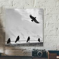 Placa Decorativa - Let'S Fly