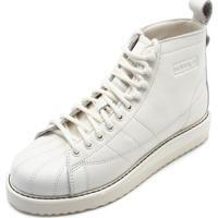 23a81bc23 Dafiti; Tênis Couro Adidas Originals Superstar Boot Combat Off-White