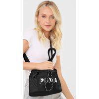 Bolsa Puma Core Base Bucket Bag Preta