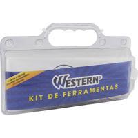 Kit De Ferramentas Western Com 8 Pçs