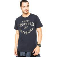 Camiseta Drop Dead Ninety 1 Azul