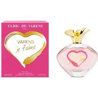 Perfume Varens Je T'Aime Feminino Ulric De Varens Edp 100Ml - Feminino-Incolor