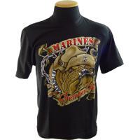 Camiseta Devil Dog Marines Semper