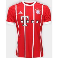 ad72c0ac60 Camisa Bayern De Munique Home 17/18 S/Nº Torcedor Adidas Masculina -  Masculino