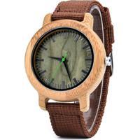 Relógio Madeira Dododeer-A23 Marrom