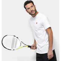 Camiseta Nike Court Heritage Masculina - Masculino-Branco