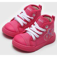 Tênis Pampili Infantil Lily Pink