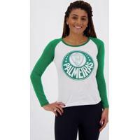 Camiseta Palmeiras Manga Longa Feminina - Feminino